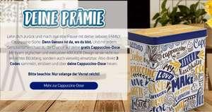 Krüger Cappuccino Dose GRATIS bei Kauf von 3 Beuteln KRÜGER Family Cappuccino