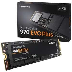 Samsung 970 EVO Plus 1 TB / NVMe SSD M.2