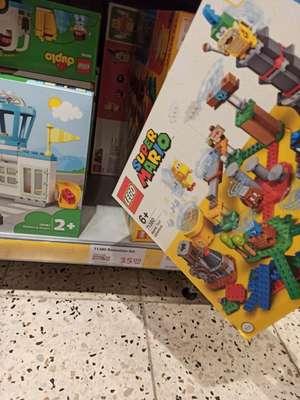 (Globus lokal Hermsdorf Klosterlausnitz) Lego Mario und Brick Headz