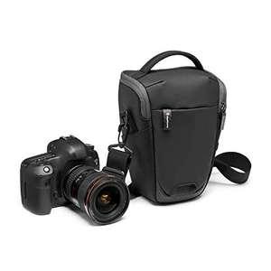 Manfrotto MB MA2-H-M Advanced² M, mittelgroßer Halfter für DSLR/CSC Kameras, Schultergurt, Stativbefestigung, beschichteter Stoff (Prime)