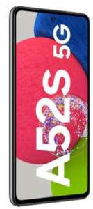 O2 Netz: Samsung Galaxy A52s 5G 6/128GB schwarz/weiß im Blau Allnet L 4GB LTE für 19,99€ monatlich (8GB 21,99€), 1€ einmalig + 50€ Cashback