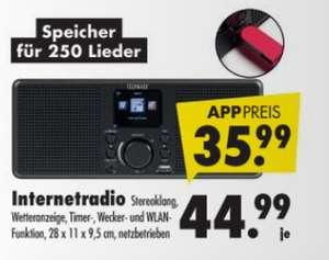 Internetradio (Technaxx TX-153/XORO HMT-420) für 35,99 € App-Preis bei Mäc Geiz