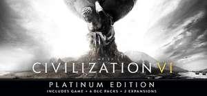 (Steam) Sid Meier's Civilization VI : Platinum Edition - Steam Store