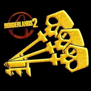 5 Goldene Schlüssel für Borderlands 2 (PS4, XBox One & PC)