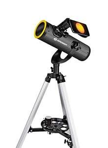 Bresser Newton Teleskop Solarix AZ 76/350 mit Sonnenfilter