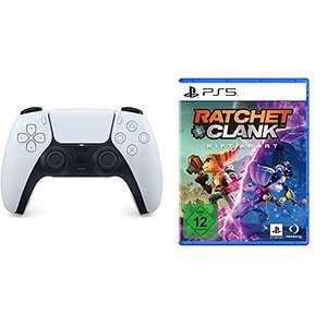 [Amazon] PS5 DualSense weiß + Ratchet & Clank: Rift Apart