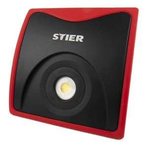 STIER Wechselakku-COB-LED-Baustrahler 5000 Lumen 50 W - passend für Bosch Professional 18V-Akkus und Makita