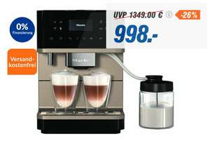 MIELE CM 6360 MilkPerfection obsidianschwarz Kaffeevollautomat (OneTouch for Two, WiFiConn@ct, AromaticSystem)