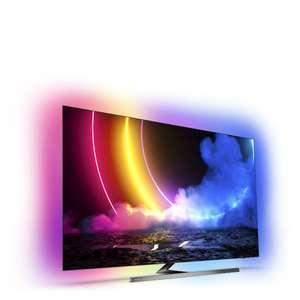 PHILIPS 65OLED876 OLED TV (65 Zoll), 4K UHD 100/120Hz HDMI 2.1 Ambilight