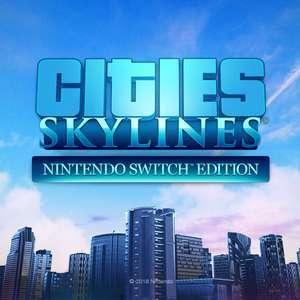 Cities: Skylines - Nintendo Switch Edition für 8,18€ (MEX eShop)