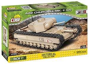 COBI Historical Collection (2709) A22 Churchill Mk. II CS Panzer Bausatz für 15,09€ (Amazon Prime & Thalia)