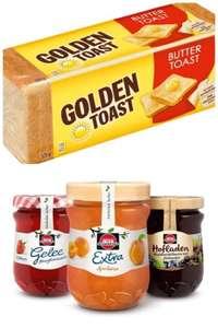 [Kaufland Do-Mi] Schwartau Marmelade 340g + Golden Toast mit Coupon für 1,53€