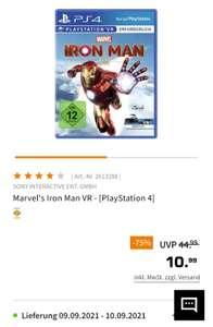 (Media Markt/Saturn) Iron man VR / Blood and Truth PS4/Playstation 4