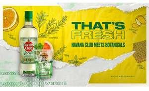 [Edeka + Edeka Center Minden-Hannover] Havana Club Verde 70cl 35% mit Coupon an der Flasche für 7,99€