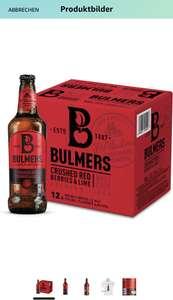[Amazon Prime] Bulmers Red Berries Cider (12 x 0.5 l) - Verschiedene Sorten
