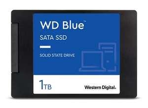Western Digital WD Blue 1TB SATA SSD (3D-NAND TLC, DRAM Cache, 5 Jahre Garantie, R560, W530)