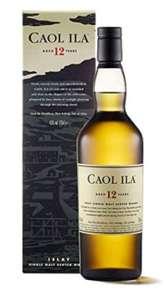 Caol Ila 12 Jahre Islay Single Malt Scotch Whisky - Amazon Spar-Abo 30,59€ | 5er Spar-Abo 28,89€