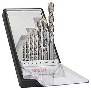 Bosch Professional 7-teiliges CYL-3 Betonbohrer Set (für Beton, Ø 4/5/5,5/7/8/10 mm, Zubehör Schlagbohrmaschine) mit Prime