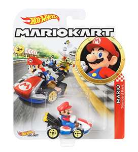 Hot Wheels Mario Kart Replica 1:64 Spielzeugauto für 6,99€ (Amazon Prime)