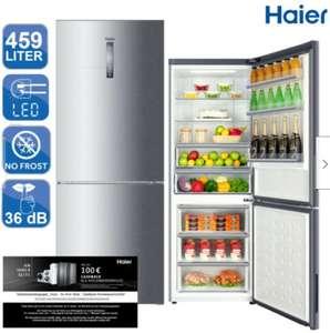 Haier C3FE844CGJ Kühl-/Gefrierkombination, 311L Kühlen, 148L Gefrieren, Neue EEK: D, NoFrost, 36dB, Inverter Kompressor, Silber