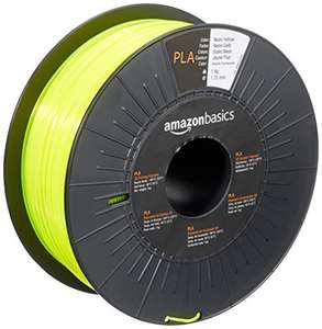 Amazon Basics PLA Filament 1-kg-Spule Neongelb für 3D-Drucker mit 1,75mm