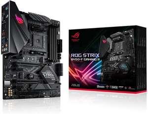 Asus ROG Strix B450-F Gaming II AM4 Mainboard (ATX, AMD Ryzen, DDR4 Speicher, USB 3.1, NVME M.2, SATA 6Gbit/s, Aura Sync)