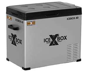 ICEBOX 40 elektrische Kompressor-Kühlbox & Gefrierbox (40 Liter bis -20 °C) CROSS TOOLS - 12/24 V und 230 V für Auto, Lkw, Boot, Reisemobil