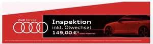 [lokal NRW] Audi Inspektion inkl. Ölwechsel zum Fixpreis
