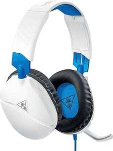 Turtle Beach Recon 70P Weiß Gaming Headset - PS4, PS5, Xbox One, Xbox Series S/X, Nintendo Switch und PC für 7,99€ + Versand