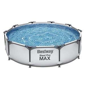 Bestway Steel Pro MAX Frame Pool Ø 305 x 76 cm (56406-21) (ohne Reinigungsset) [Amazon]