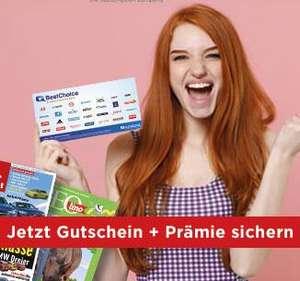 7 € Coupons.de Gutschein für Zeitschriften + Prämie bis zu 280 €