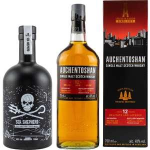 Whisky-Übersicht #106: September-Angebote bei Amazon, z.B. Sea Shepherd Islay Whisky für 28,99€, Auchentoshan 12 für 21,37€ inkl. Versand