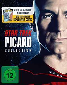 Star Trek - Picard Movie & TV Collection Limited Collector's Edition (Blu-ray) für 37,97€ (Amazon)