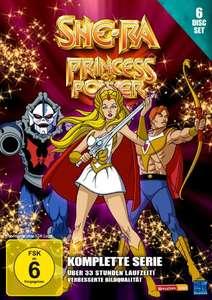 She-Ra Princess of Power - Die komplette Serie (Folge 1-93 6 DVDs) für 10,97€ (Amazon Prime)