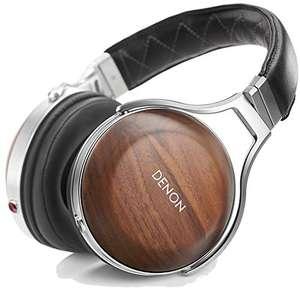 Denon AH-D7200 Premium Over Ear Kopfhörer mit Ohrschalen aus Walnussholz, Hi-Res Audio, 50mm FreeEdge-Treiber für 479€ (Amazon)