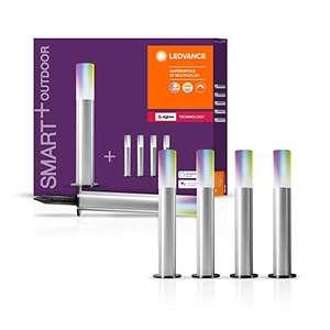 LEDVANCE Smart+ LED Gartenleuchte Gardenpole, ZigBee, dimmbar, RGB