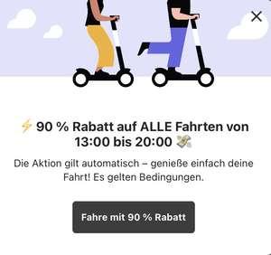 BIRD E-Scooter 90% Rabatt Bis 20:00 (Lokal Berlin?)