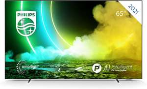 """Philips 65OLED705 (65"""", UHD, OLED, 120Hz, ~600cd/m², Dolby Vision, 3-seitiges Ambilight, 4x HDMI 2.0, DTS, Android TV)"""