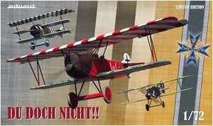 """Eduard Modellbausatz 2135 1:72 Limited Edition, Ernst Udet """"DU DOCH NICHT!!"""" , inkl. Albatros D.V(a), Fokker Dr.I, Fokker D.VII"""
