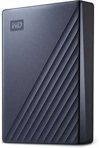 WD My Passport Ultra mobiler Speicher 5 TB (Metallgehäuse, WD Discovery Software, automatische Backups, Passwortschutz