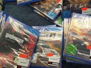 (Lokal Hamburg Saturn EEZ) PS4 Spiele : Prey , Fast & Furios Crossroads , Project Cars , The New Order / Old Blood , DOOM Eternal