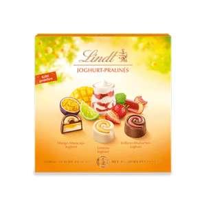 50% auf Lindt Joghurt Pralinés, 150g   VSK frei ab 15€