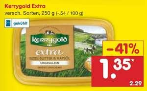 [Netto MD] 250 g Kerrygold Extra Butter & Rapsöl (mit Marktguru für 0,95 €)