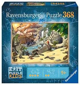 Ravensburger EXIT Puzzle Kids - 12954 Das Piratenabenteuer - 368 Teile, ab 9 J (Prime)