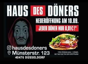 [Düsseldorf] Eröffnungsangebot Döner für nur 0.01€