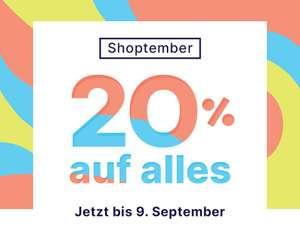 [Redbubble] 20% auf ALLES! Jetzt bis 9. September!