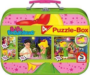 Schmidt Spiele Bibi Blocksberg, 4 Kinderpuzzle im Metallkoffer, 2x60 und 2x100 Teile für 7,45€ (Amazon Prime)