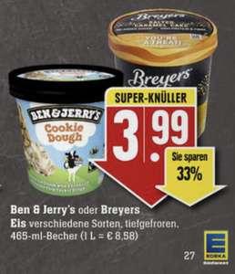 Edeka (fast) bundesweit - Ben&Jerry's Eiscreme 33% günstiger