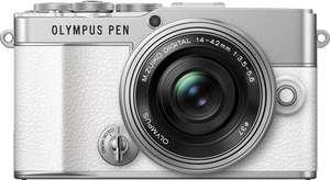 [Corporate Benefits] Olympus Systemkamera E‑P7 Pancake Zoom Kit + M.Zuiko Digital ED 75mm F1.8