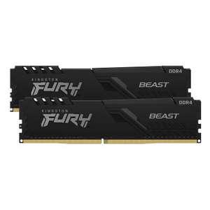 Kingston FURY Beast Schwarz 16GB Kit (2x8GB) DDR4-3600 CL17